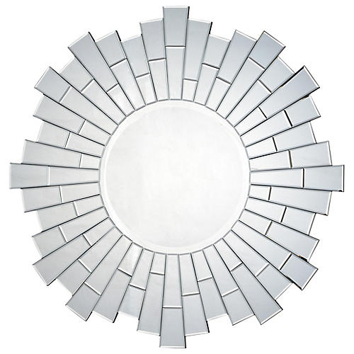 Sager Wall Mirror, Silver