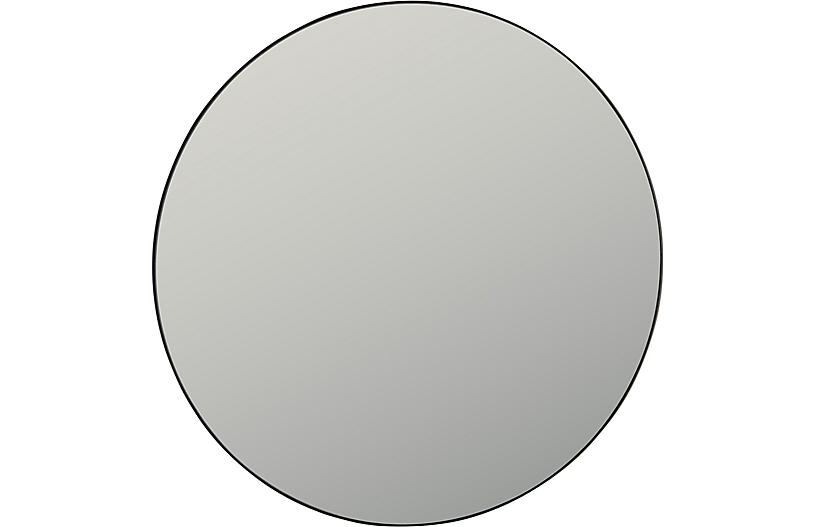 Sofi Wall Mirror, Smoke