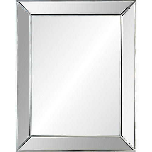 Ary Wall Mirror, Silver