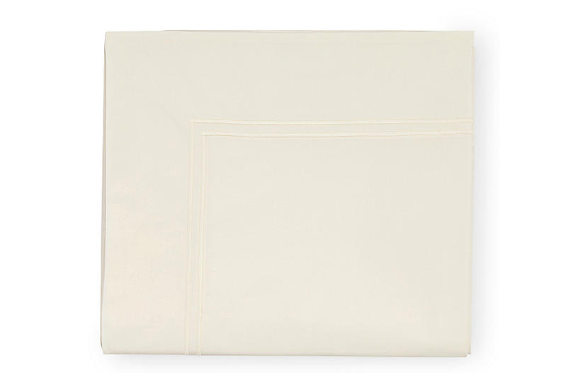 Grande Hotel Flat Sheet, Ivory