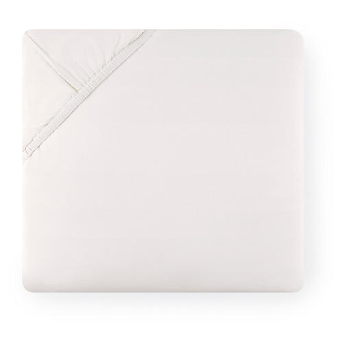 Celeste Fitted Sheet, Ivory