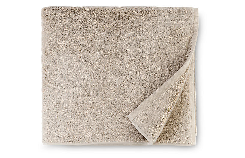 Sarma Bath Towel, Oatmeal