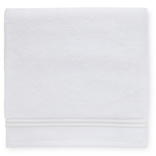 Aura Hand Towel, White/Ivory
