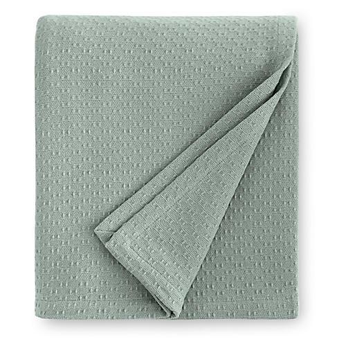 Corino Blanket, Seagreen