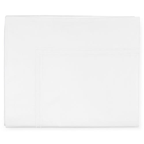Grande Hotel Flat Sheet, White