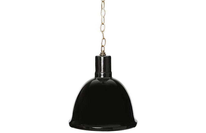 Malibu Hanging Pendant, Black