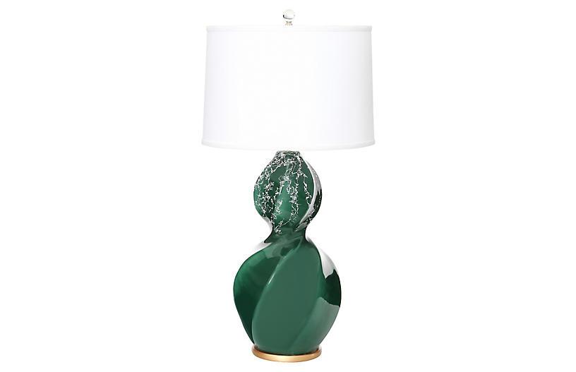 Bel Air Table Lamp, Emerald