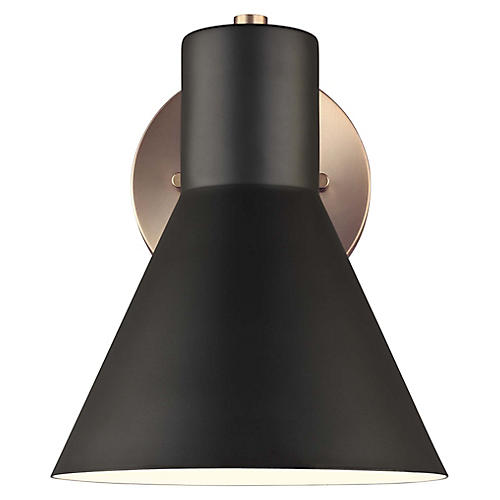 Towner 1-Light Bath Sconce, Satin Bronze