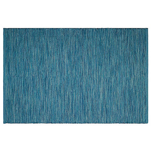 Booth Outdoor Rug, Blue