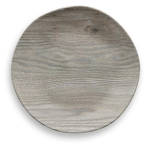 S/6 Breaon Salad Plates, Gray