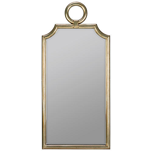 Brier Wall Mirror, Champagne