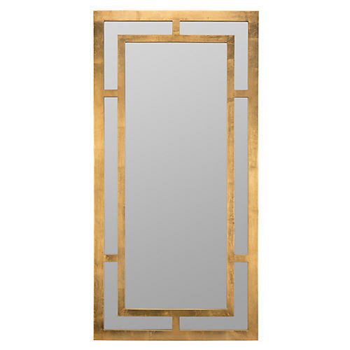 Bendedict Wall Mirror, Gold