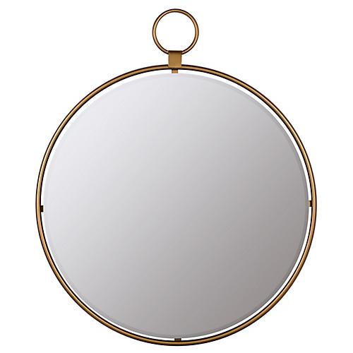 Kennewick Wall Mirror, Gold