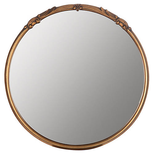 Melisande Wall Mirror, Gold