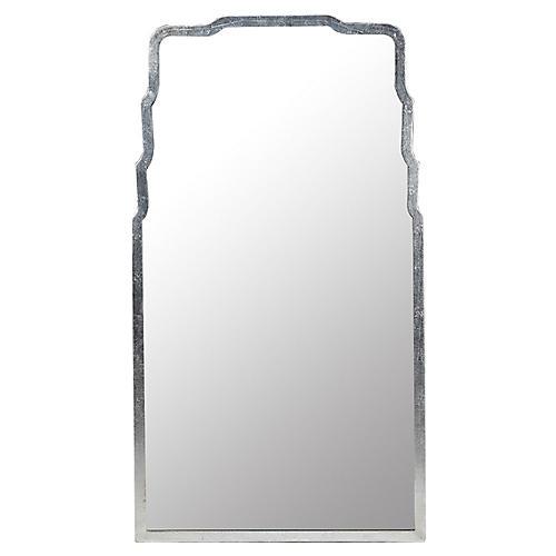 Doute Wall Mirror, Silver