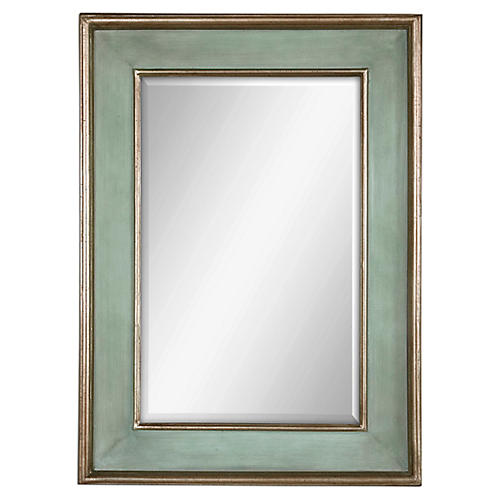 Ogden Wall Mirror, Blue