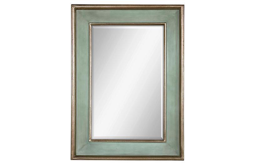 Ogden Wall Mirror, Blue