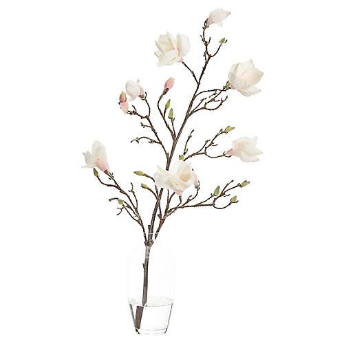 "20"" Magnolia in Jar, Faux"