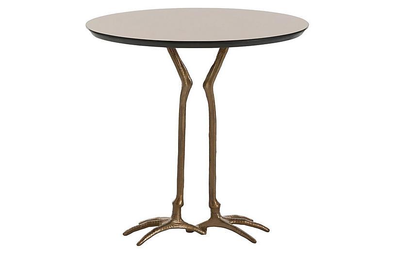 Emilio Side Table, Bronze