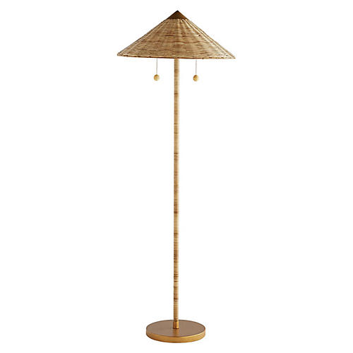 Terrace Floor Lamp, Natural