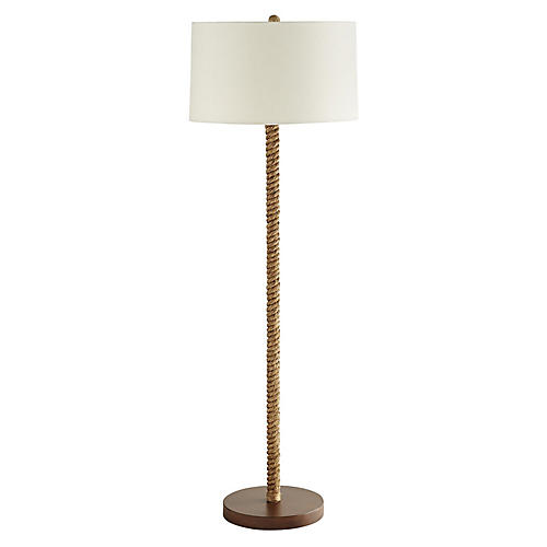 Lasso Floor Lamp, Natural
