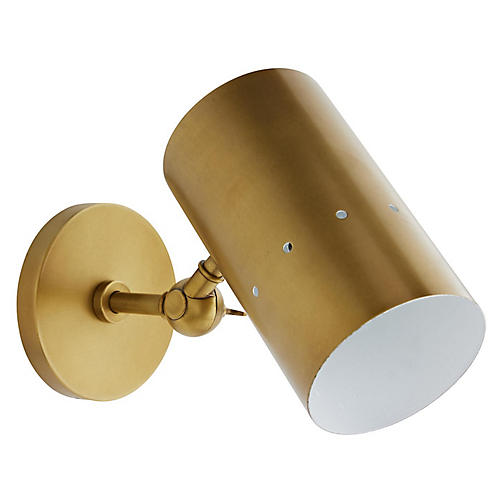Thomas Sconce, Antiqued Brass