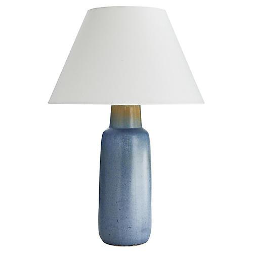 Rendon Table Lamp, Slate Blue
