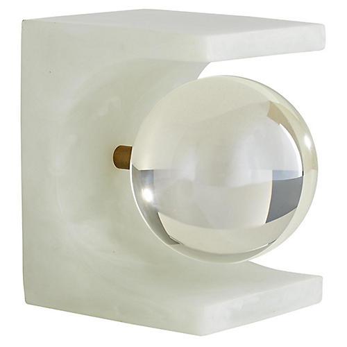 Tobi Sculpture, White