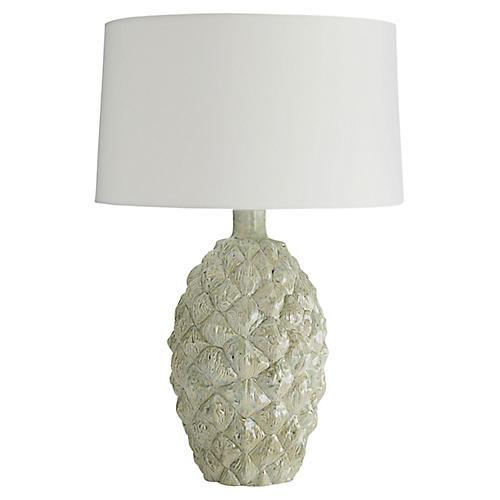 Cockerell Table Lamp, Artichoke Reactive