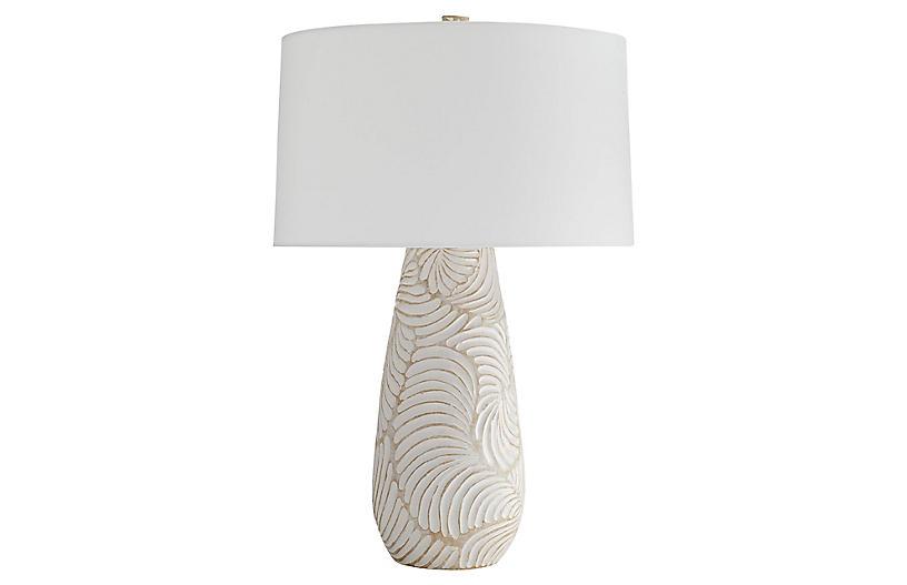 Castillo Table Lamp, Sandstone