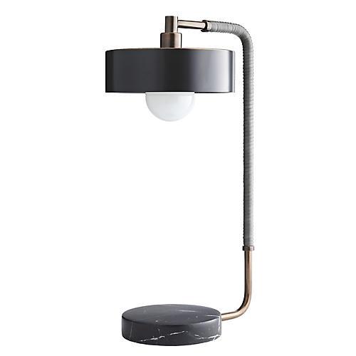 Aaron Task Lamp, Heritage Brass