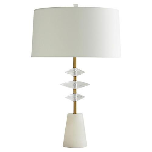 Aviva Table Lamp, Snow White