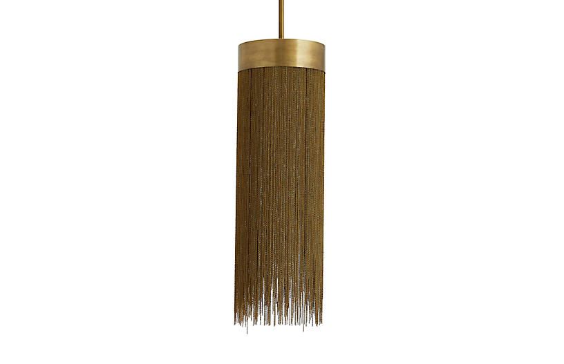 Arteriors Fatima Pendant Antique Brass One Kings Lane