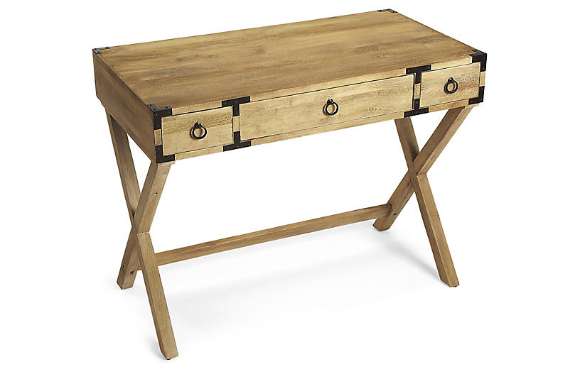 Ellison Writing Desk, Natural