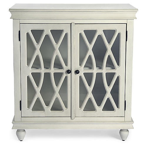Avery Cabinet, White