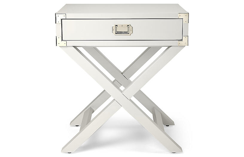 Kering Nightstand, White