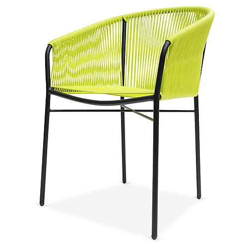 Anais Armchair, Apple Green
