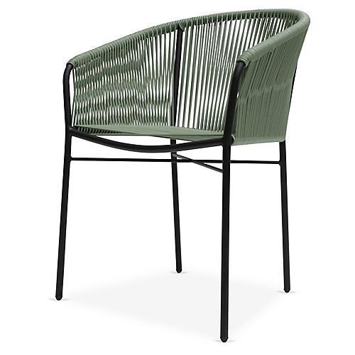 Anais Armchair, Olive Green