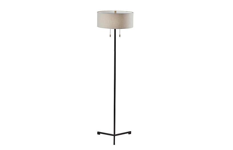 Paula Floor Lamp, Black