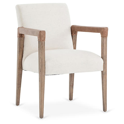Fairlee Side Chair, Beige
