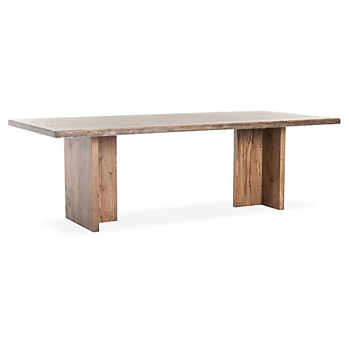 Vershire Dining Table, Natural