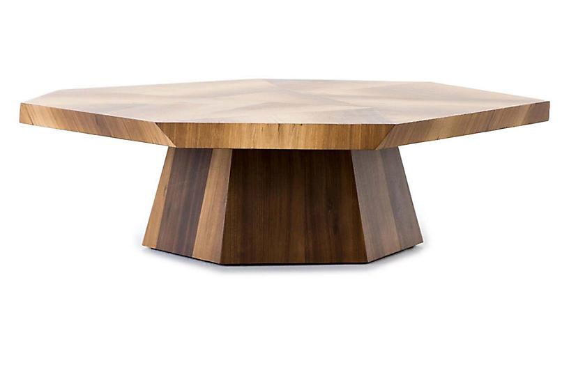 Elle Coffee Table, Blonde Yukas