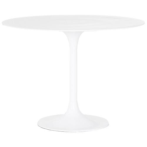 Simone Bistro Table, White