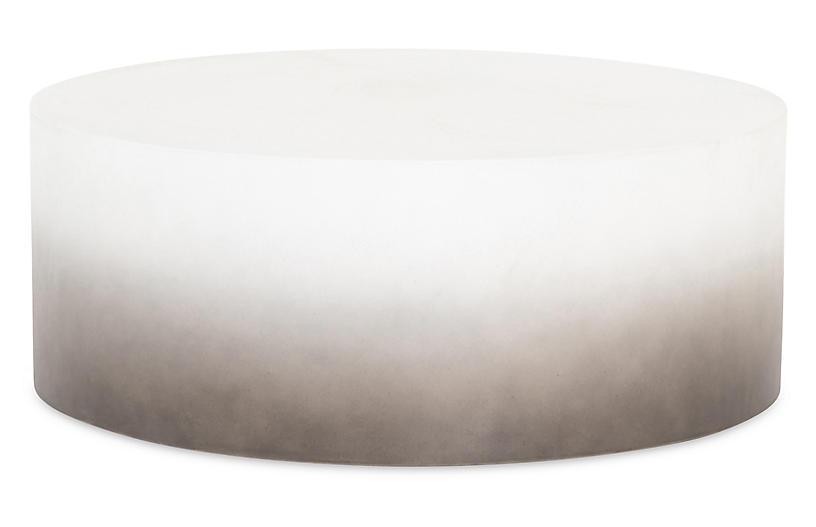 Nash Outdoor Coffee Table, Slate Ombré