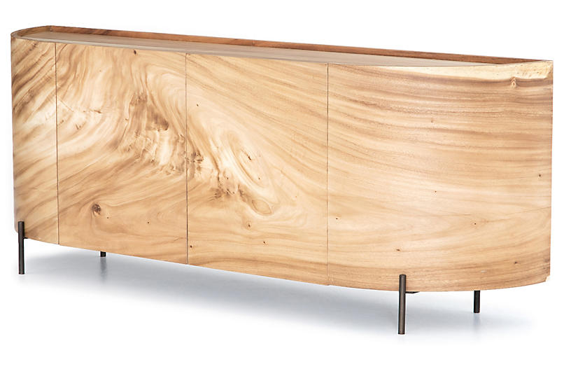 Bryn Sideboard, Gold Guanacaste/Natural