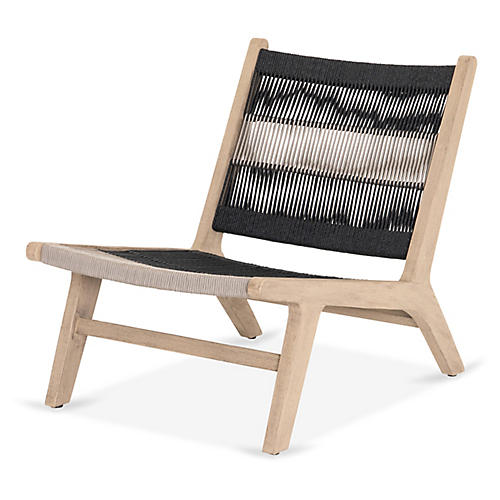 Julian Outdoor Chair, Washed Brown
