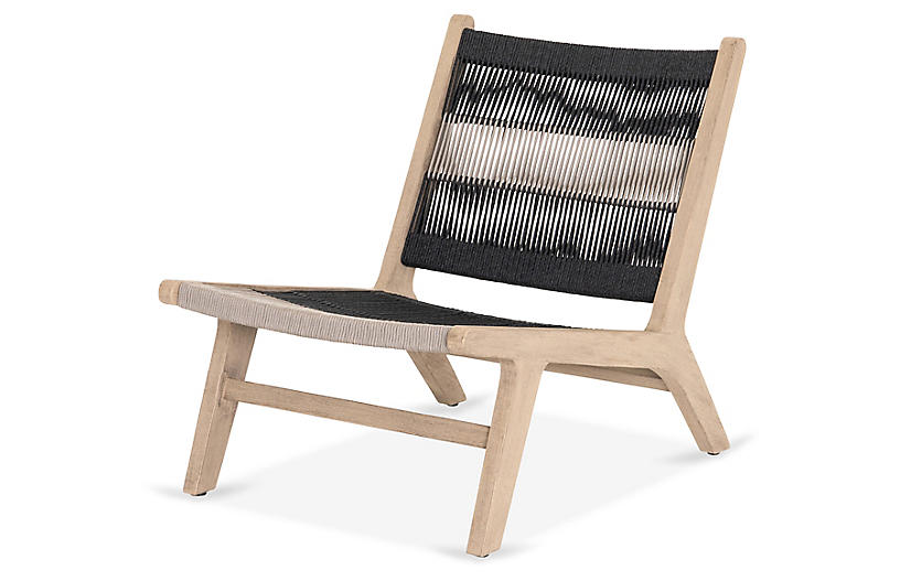 Tyler Outdoor Chair, Washed Brown
