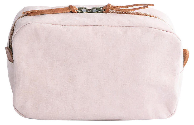 Avventura Toiletry Bag, Blush
