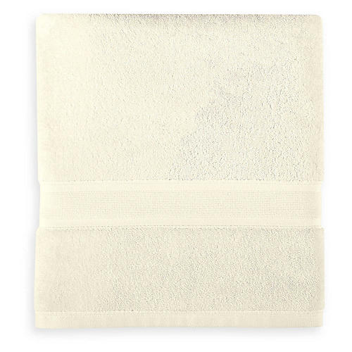 Icon PimaCott Washcloth, Ivory