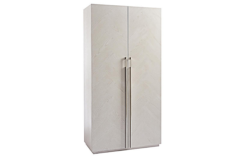 Ivins Armoire, Ivory